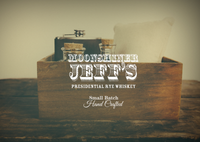 Moonshiner Jeff's Presidential Rye Whiskey